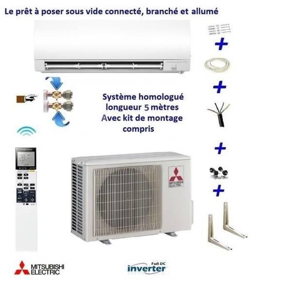 Faire poser une climatisation réversible : Prix pose & fourniture
