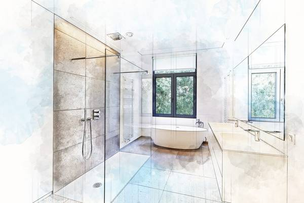 Refaire une petite salle de bain : Demandez votre étude gratuite