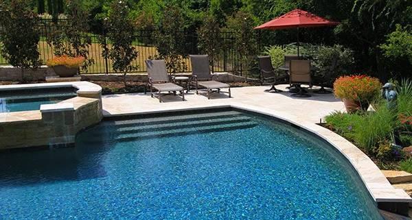 prix d'une piscine béton 6x3