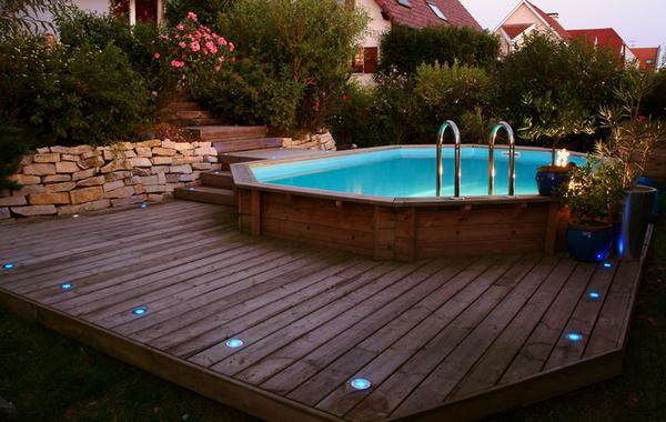 Prix piscine bois semi enterrée avec pose : Devis en ligne Gratuits